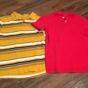Boys polo shirts lot. 8/10